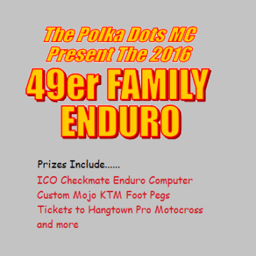 49er Route Sheet Posted / Win Some Cool Prizes!
