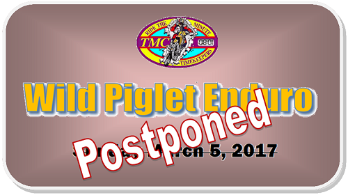Wild Piglet Postponed