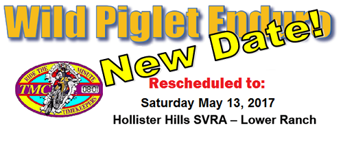 Wild Piglet Rescheduled to May 13th!