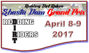 Shasta Dam GP April 8th – 9th