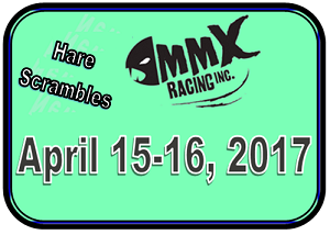 MMX Hare Scrambles This Weekend!