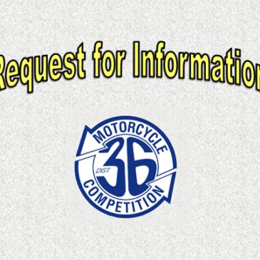 Request For Information 2019-2020 CC Scoring Vendor