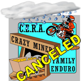 Crazy Miner Enduro Canceled!