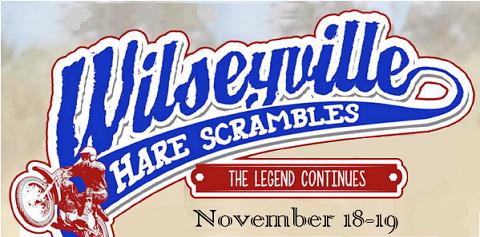 Wilseyville Hare Scrambles November 18 – 19