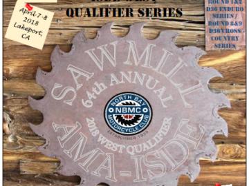 Sawmill ISDE Qualifer – D36 Enduro Pays Enduro and CC Points
