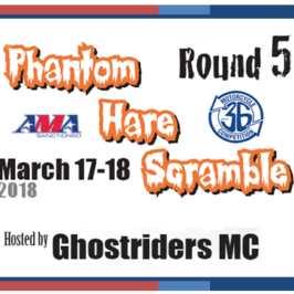 Phantom Hare Scrambles Flyer and Information!