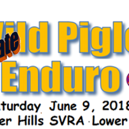 Wild Piglet Family Enduro This Saturday!