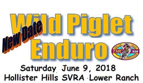 Wild Piglet Family Enduro This Saturday!