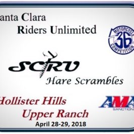 Santa Clara Riders Unlimited HS Flyer Posted-Enter Online!