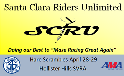 SCRU Hare Scrambles This Weekend!