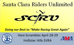 SCRU Hare Scrambles This Weekend!