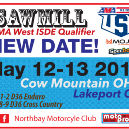 Sawmill ISDE 2 Day Qualifier This Weekend!